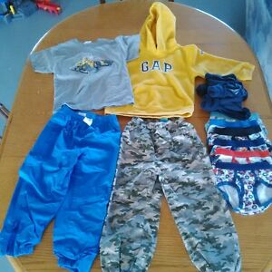 Boy size 3 & 4 lot of clothes