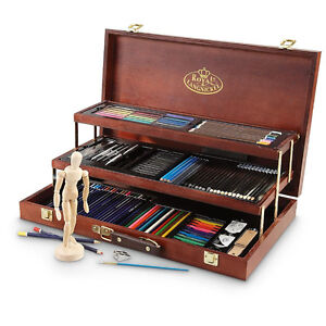 Royal &Langnickel Sketching and Drawing Deluxe Art Set,134-Piece