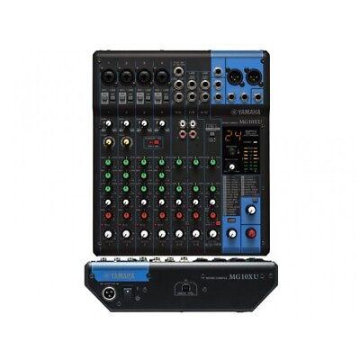 YAMAHA MG10XU MIXER AUDIO PASSIVO USB CON EFFETTI VOCE MIXER LIVE KARAOKE SERATE usato  Anagni