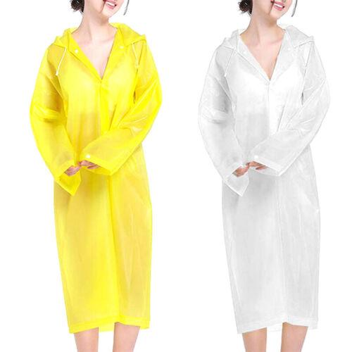reusable eva siamese raincoat rain poncho adult