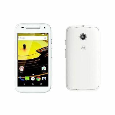 New Motorola Moto E White 4G 2nd Generation White Unlocked 8GB Smartphone