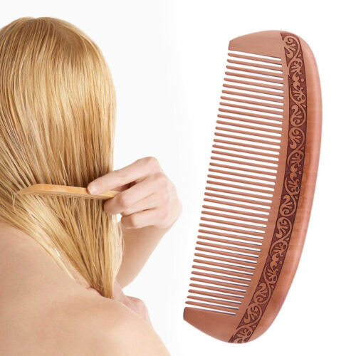 Wooden Hair Comb Natural Wood Anti Static Health Comb Massag