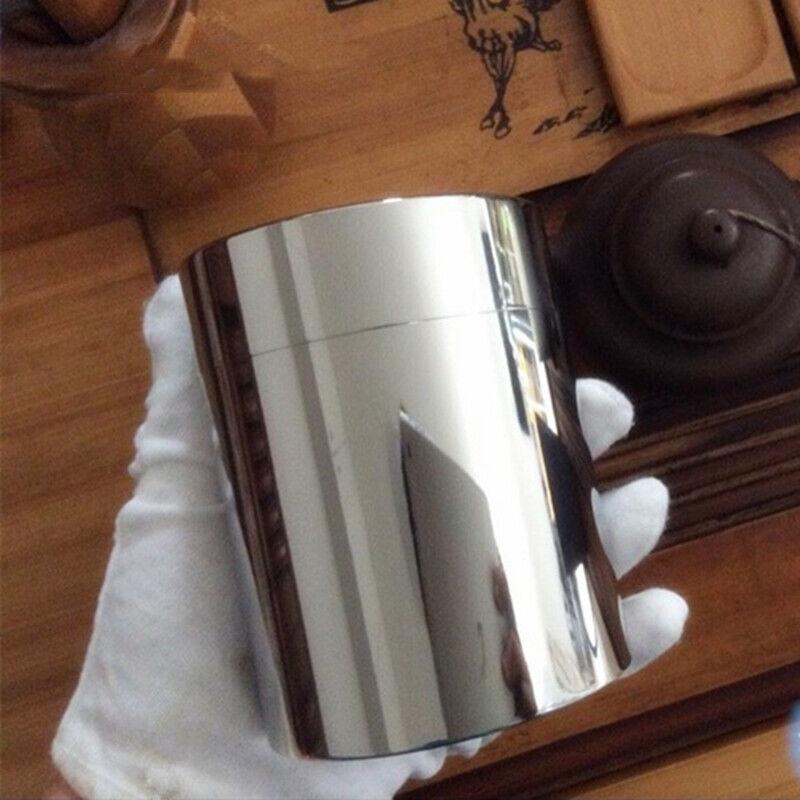 EDC Pure Titanium Storage Ultralight Portable Coffee Tea Can Container Tools
