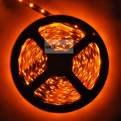 3528 yellow 5M SMD 300LED Strip Light DC 12V Car IP33 Brand new free shipping on Rummage