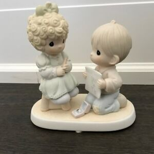 Precious Moments Engagement Figurine