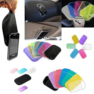 Anti Slip Pad Washable Removable Reusable Sticky Car Pad for Mobile Phones PVCA