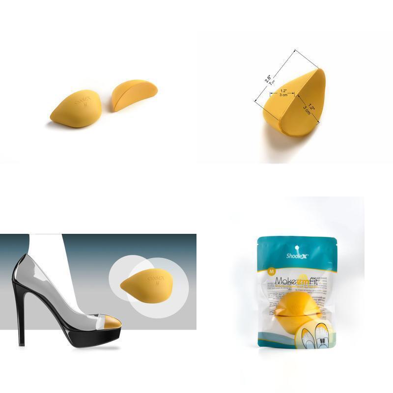 Shoolex Shoe Filler Unisex Shoe Inserts To Make Big Shoes Fit Large
