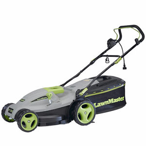 Lawnmaster 12.5-Amp 18-Inch 3 in 1 Electric Mower
