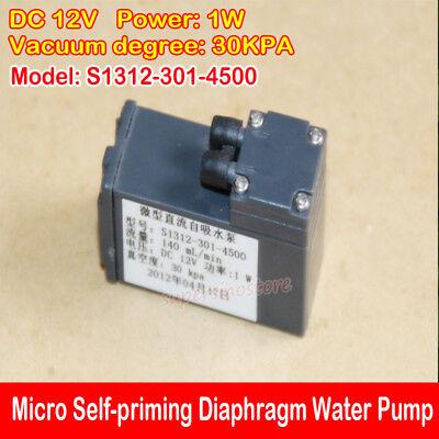 Micro Mini Self-priming Pump Dc 12v 140mlmin 1w Mute Diaphragm Water Pump Diy