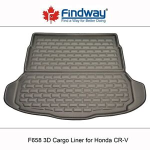 Findway F658 Style 3D Cargo Liner for 2007-2011 Honda CR-V