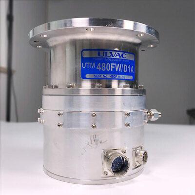 Used Ulvac Utm480fwd1a Turbo Molecular Pumps