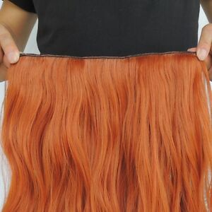"""Clip in hair extension,60 cm,24"""",NEW COLORS!!! AUBURN,COPPER RED Yellowknife Northwest Territories image 8"""