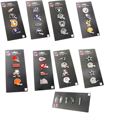 4 pin set AMINCO collectible throwback NFL PICK YOUR TEAM Nfl Collectible Pins