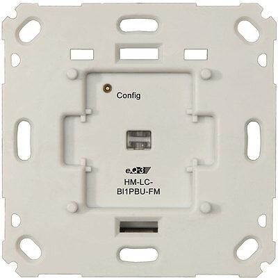Homematic 103038 Funk-Rollladenaktor für Markenschalter, 1fach Unterputzmontage