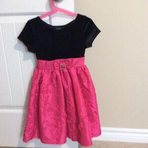 Fancy pink dress