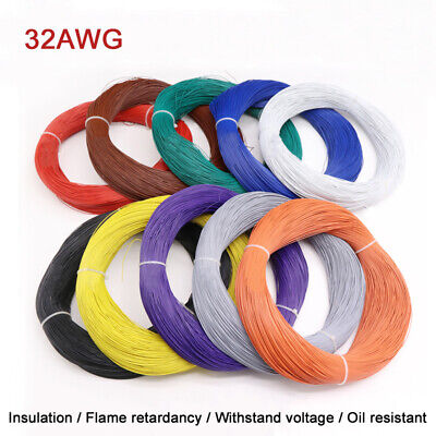 32AWG Flexible Stranded Cable UL1571 Tinned Copper PVC Insulation Wire For LED Copper Wire Insulation