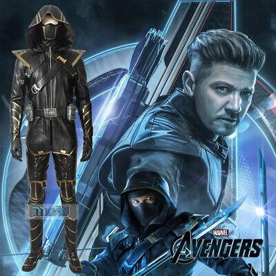 Avengers 4 Endgame Clinton Barton Hawkeye Ronin Cosplay Kostüm Costume (Hawkeye Cosplay Kostüme)