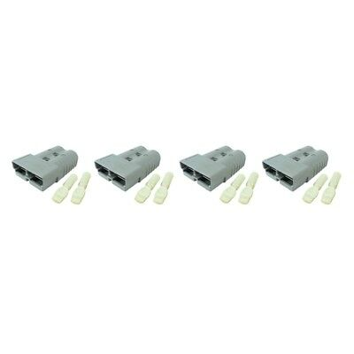 Anderson Sb50 Connector Kit Gray 1012 6319g1 4 Pack Free Shipping