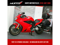2019 '69 Honda VFR800F ABS. 1 Owner. ONLY 1,306 MILES. Full Givi Luggage. £8,995
