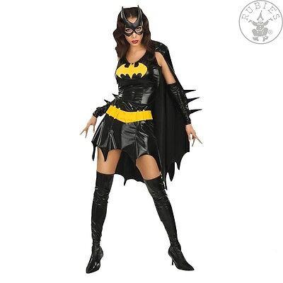 RUB 3888440 Damen Kostüm Batgirl 34 36 38 40 Kleid Maske Cape Stulpen Karneval ()
