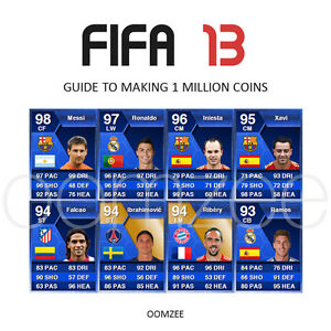 FIFA 13 Guide - 1 Million Ultimate Team Coins (Xbox 360, PS3 & PC)