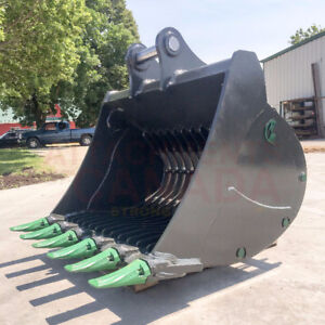 EXCAVATOR SKELETON BUCKETS - CANADIAN BUILT - ALL SIZES