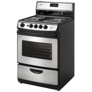 Danby 24 inch Wide Stainless Steel Electric Range