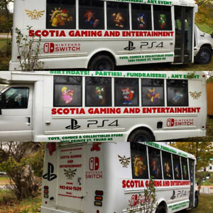 Video Gaming Bus Parties