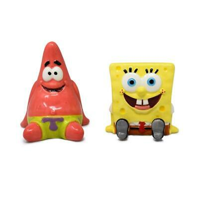 SpongeBob Square Pants and Patrick Salt and Pepper Shaker - NIB Square Salt Shaker