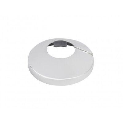 2x 15mm Cromo Tubo de Cobre Cuello/Radiador Apertura Roseta