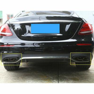 2pcs Auspuffblende Auspuff Abdeckung für Mercedes Benz GLC GLE GLS C E Klasse WT