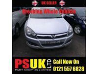 Vauxhall Astra H Silver 5 Door Breaking For Parts