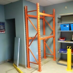 New Redi-Rack Bolted Pallet Racking Frames In Stock