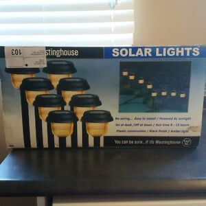 Solar Lights - box never opened!!!