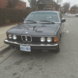 1984 BMW 733i ABSOLUTELY NO RUST! LOW KMS!