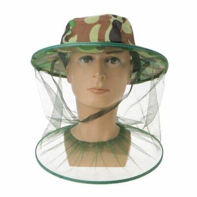 Beekeeping Hat Mask Protector Cap Mosquito Bee Net Veil Face Head Green Us