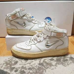 Nike Air Force  One Mid ( NYC   Jewel ) - Men's 8.5