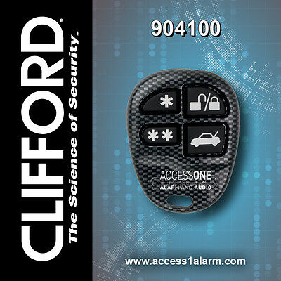 CLIFFORD 904100 Replacement Remote Control Transmitter Fob G4 G5 Matrix Concept