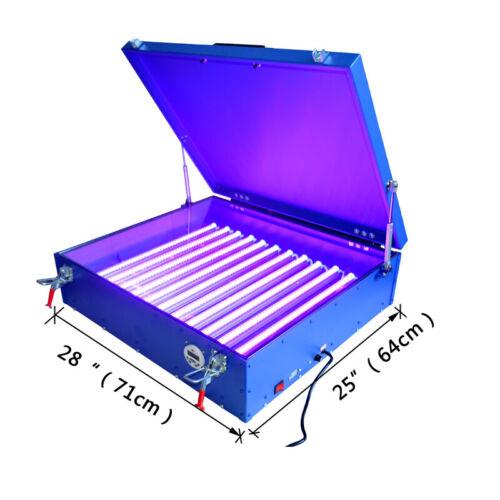"25""x28"" Screen Printing LED Exposure Unit Light Box Plate Making Machine"