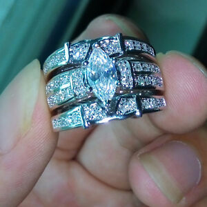 Victoria Wieck - 4 CT SIMULATED DIAMOND RING - SIZE 7