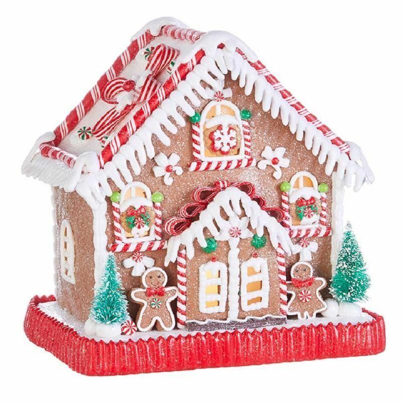Raz Peppermint Gingerbread House-4016275