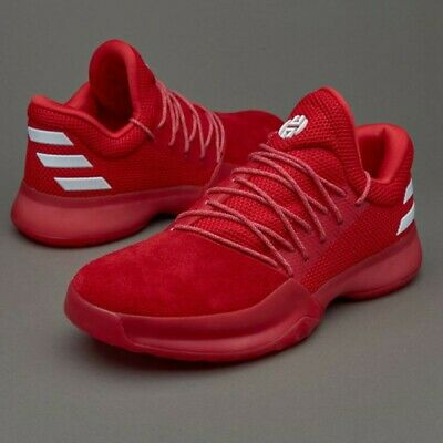 3d48f6071485 Adidas James Harden Vol. 1 Rockets Red White Size 7. CQ1404 ultra boost