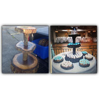 Rustic Wedding Cupcake Stand