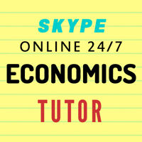 ECONOMICS TUTOR / ECON TUTOR (Available on SKYPE 24/7)