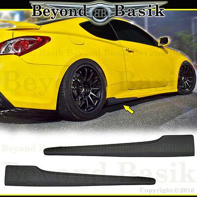 2012 Genesis Coupe - Fits 2010-2016 Hyundai Genesis Coupe 2pc NEFD Style Aero SIDE SKIRTS Body Kit