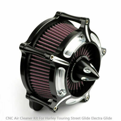Motor Air Cleaner Intake Filter Turbine For Harley Dyna FXDLS 2017 Softail 16-17