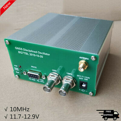 Gnssdo Gnss Disciplined Oscillator Disciplined Clock 10mhz Output F Gpsglonass