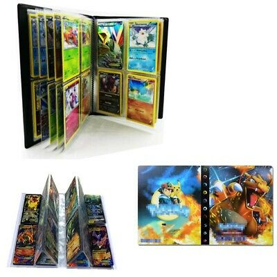 Pokemon 240 Cards Album Binder Folder Book List Collectors Capacity DIY