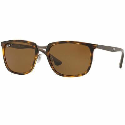 Ray-Ban Sunglasses Light Havana w/Brown Polarized Lens Men