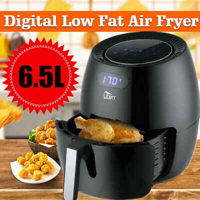 Uten 1800W Power 6.5L Air Fryer Oil Free Healthy Cooker Oven Low Fat Frying  XXL